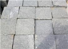 Dark Grey Basalt Landscaping Stones, Pavers, Cobble Stone, Cube Stone for Roads