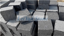 Antique Tumbled Blue Stone Cube,Paver, L828