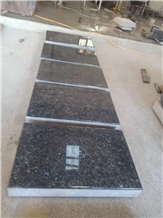 Blue Pearl Granite Markers, Pillows Monuments