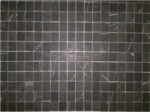 Pietra Gray Marble Mosaic Polished