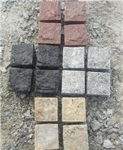 Granite Cobbles, Grey Granite Cube Stone & Pavers