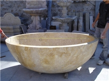 Travertine Bathtubs Stone Bathtub