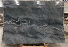 China Blues Grey Marble Slabs