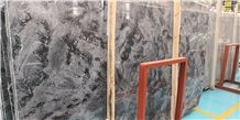 Romantic China Grey Marble Slabs
