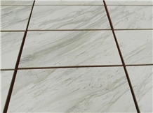 Greece Volakas White Marble Tiles and Slabs