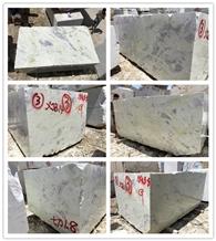 China White Light Jade Marble Raw Blocks