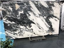 Factory Polished Black Painting Wall Cladding Slab