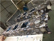 Grey Agate Table Tops/Gemstone Table Counter Tops