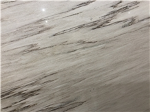 Polished White Sandy Marble Wall Cladding Marble