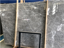 Turkey Hermes Grey Marble Slabs White Vein