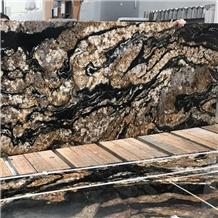 Black Fusion Granite Slabs