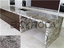 Brazil Diamond Aran White Granite Polished Tops