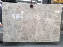 Brazil Luxury Light Grey Spring Quartz Stone