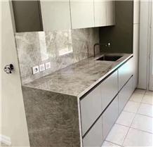 Brazil Natural Beige Quartize Countertops & Sinks