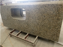 Butterfly Gold Yellow Granite Kitchen Countertops