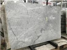 China Alaska White&Grey Marble Slabs Wall Tiles