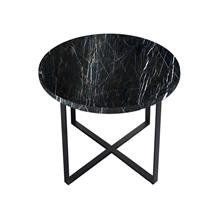 China Black Marquina Marble Round Table