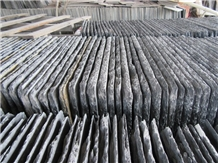 China Black Slate Natural Stone Roofing Tiles