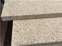 China G682 Rusty Yellow Granite Flooring Tiles