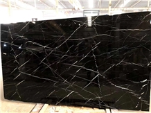 China Nero Marquina Marble Slab Wall Floor Tiles