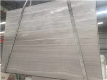 China Wooden White Slab Tiles Marble Wall Tiles