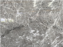 Chinese Athena Grey Marble Slabs with White Waves