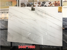 Colorado Yule Tajikistan Lincoln White Marble Slab
