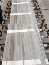 Crystal White Wood Jade Marble Slabs Vein Tiles