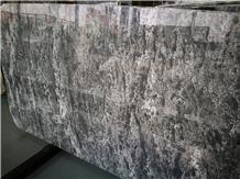 Dark Grey Marble New Polished Star Marble Slabs