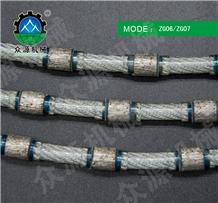 Diamond Rope/Wire Saw for Granite/Marble Profiling