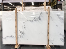 Factory Direct Custom Polished Ink White Marble