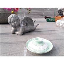 Factory Direct Grey Marble Interior Sculptures