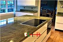 Fancy Green Kitchen Countertops Bathroom Tops