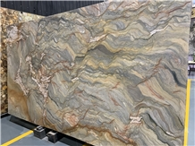 Fusion Blue Quartzite Slabs,Tiles Polished