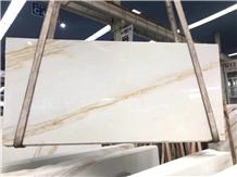 Golden Ariston Gold Vein White Marble