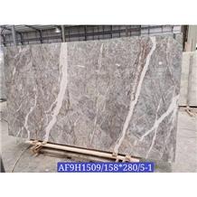 Grey Fleury Pascal Fior Di Pesco Bosco Marble Slab
