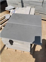 Honed Finished Hainan Black Basalt Tiles