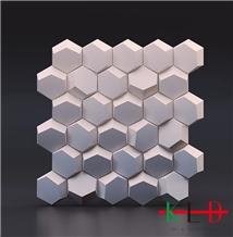 Hot Sale Cnc 3d Wall Stone Panels Honeycomb