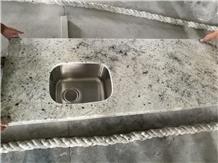 Indian Bianco Romano,Colonial White Granite Tops