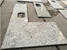 Ivory Cream White Colonial Granite Kitchen Tops