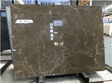 Kazoffie Brown/Cazeau Brown Marble Slab