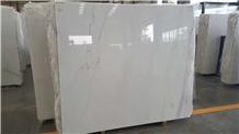 Linken White Marble Cheap Price White Marble Slab