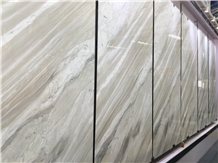 Malaysia Qamar White Marble Floor Tiles