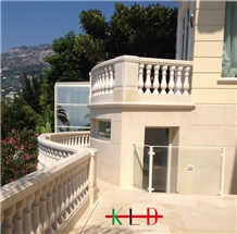 Marble Balustrade,Railings and Handrails