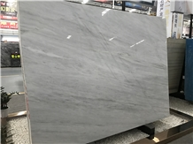 Milano White Marble Slab for Wall Cladding