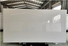 Nano Crystallized Glass Super Pure White Slab Tile
