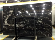 Nebula Black Cosmic Night Universe Granite Slab