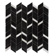 Nero Marquina Marble Mosaic Tiles