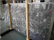 New Dark Grey Marble,Polished Galaxy Grey Marble
