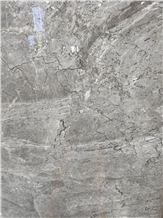 New Gray Cloud Marble, Castle Grey Slabs Tiles